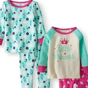 Other - NWT 2 sets of interchangeable pajamas